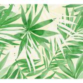 Designdschungel by Laura N. Vliestapete mit Palmenprint Dschungel Tapete beige, grün