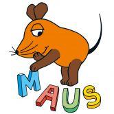 Wandtattoo Die Maus Buchstaben
