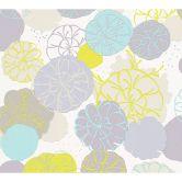 Esprit Home Vliestapete Dream of Spring blau, grau, grün