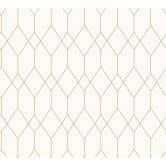 Esprit Home Papiertapete Eco of Nature metallic, weiß