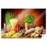 Fliesenaufkleber Italienisch Kochen