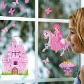 Fenstersticker Princess Set