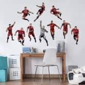 Wandsticker FC Bayern Comic Spieler James Rodríguez