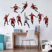 Wandsticker FC Bayern Comic Spieler Niklas Süle