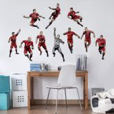 Wandsticker FC Bayern Comic Spieler Manuel Neuer
