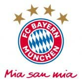 Wall sticker Bayern Munich - Mia San Mia