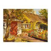 Fotopuzzle Langer - Das Gartenhaus