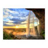 Fotopuzzle Seljalandsfoss Wasserfall