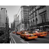 Fototapete - Cabs in Manhattan - 336x260 cm