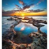 Fototapete Maori Bay - 240x260 cm