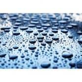 Fototapete Waterdrops - 384x260 cm