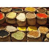 Fototapete Indischer Markt - 336x260 cm