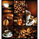 Fototapete Enjoy Coffee - 240x260 cm