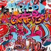 Fototapete Graffiti Hip Hop
