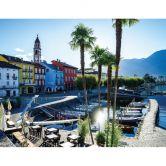 Fototapete Hafen am Lago Maggiore - 336x260 cm
