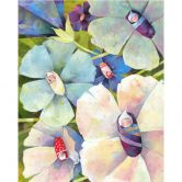 Fototapete Blanz - Blütenbabies