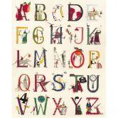 Fototapete Leffler - Das Alphabet