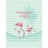 Fototapete Vliestapete Flamingo Miami Beach