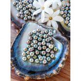 Fototapete Colombo - Schwarze Perlen von Tahiti