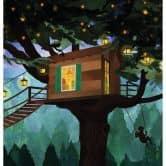 Fototapete Goed Blauw - Das Baumhaus