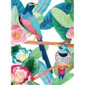 Fototapete Goed Blauw - Vögel im Frühling