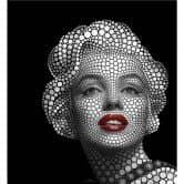 Fototapete Ben Heine - Circlism: Marilyn Monroe