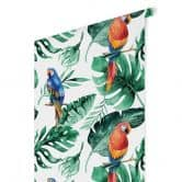 Patterned Wallpaper Kvilis - Jungle Parrots 02