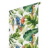 Patroonbehang Kvilis - Papegaaien in de Jungle