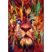Fototapete Nicebleed - Lion Red