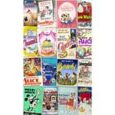 Vlies Panel Disney Movie Posters Retro Girls