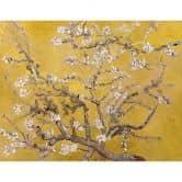 Fototapete van Gogh - Mandelblüte ocker