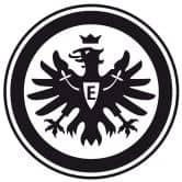 Wandtattoo Eintracht Frankfurt Logo einfarbig