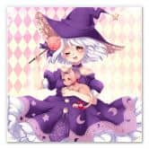 Wandbild La Doll Blanche - Little Witch