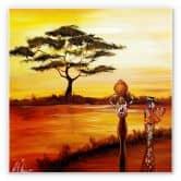 Wandbild Fedrau - Afrika