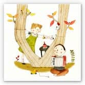 Wandbild Loske - Picknick