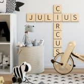 Decorative Letters Scrabble