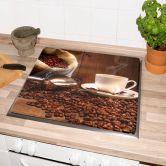 Herdabdeckplatte Kaffeegenuss