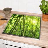 Piastre copri-fornelli – Sole tra i bambù
