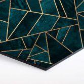 Hexagon Dibond Fredriksson - Emeralds