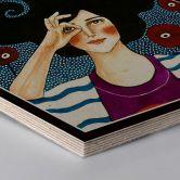 Hexagon wood - Hulya - Proud