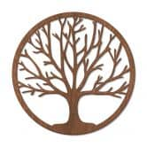 Houten Decoratie Tree of Life - Mahonie fineer
