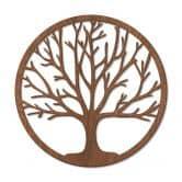Decori in legno – L'Albero della vita - mogano