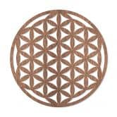Flower of Life - hout mahonie fineer