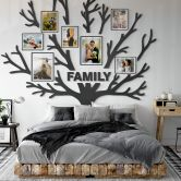 MDF - Holzdeko XXL-Baum des Lebens (19-teilig)