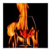 Klebefolie Lavsen - Bourbon on fire