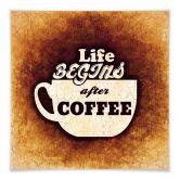 Klebefolie Life begins after Coffee 02
