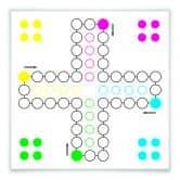 Klebefolie Brettspiel - klassisch