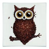 Klebefolie Kaffeeeule