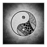 Klebefolie Yin und Yang