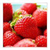 Klebefolie Erdbeeren aus dem Garten